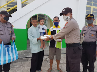 TNI-POLRI Kembali Dirikan Dapur Umum, Untuk Masyarakat Lingga yang Terdampak Covid-19