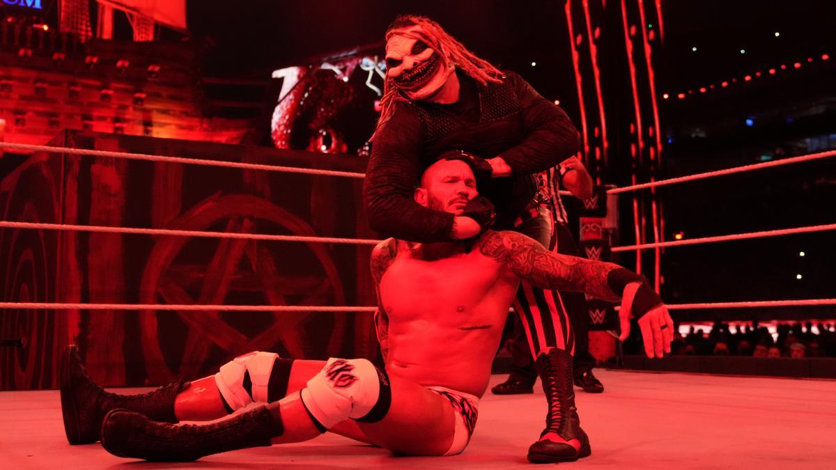 Bray Wyatt and Randy Orton on WWE WrestleMania 37
