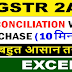 GSTR-2A Reconcilation कैसे करें [Reconcile Purchase Data with GSTR-2A]