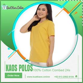 Kaos Polos Combed 24s Warna Kuning Mustard Disini Harga Grosir <price>Rp31.000</price> <code>Combed24s</code>