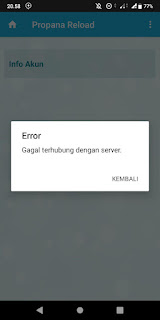 Gagal Terhubung ke Server Propana Reload