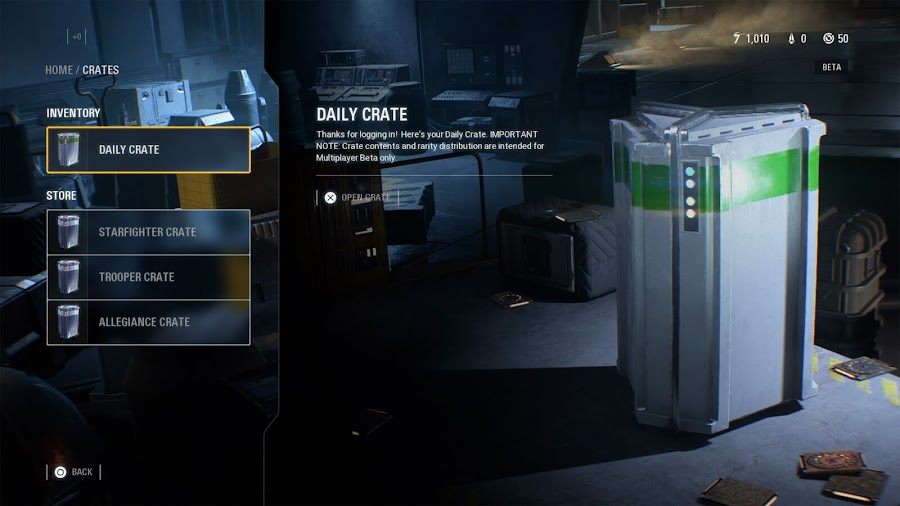 star wars battlefront 2 progression system update loot crate