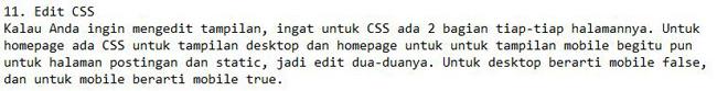Edit CSS