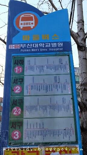 rute bus di busan