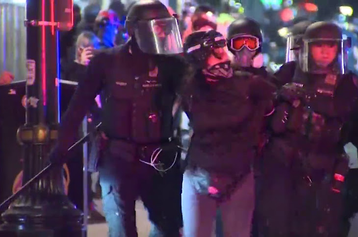 Jo Jorgenson Weighs In On Portland Protests.