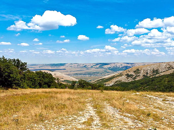 Вид на салгирскую долину