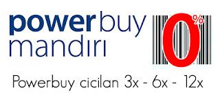 Promo cicilan 0% Kartu Kredit mandiri - Logo Power buy