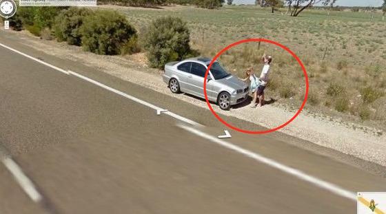 Google Street View Terakam Pasangan Sedang Buat Projek
