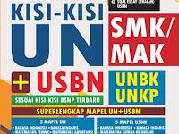 Kisi-kisi Ujian Nasional SMK/MAK 2018/2019 resmi BSNP Lengkap Semua Mata Pelajaran