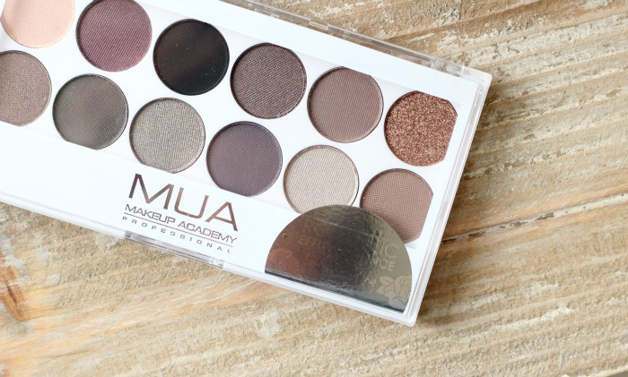 mua Romantic Efflorescence Palette review and swatches