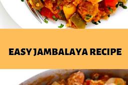 EASY JAMBALAYA RECIPE