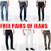 EXPIRED DEAL!! 2 Free Pairs of Men's Macy's Ring of Fire Jeans + Free Shipping