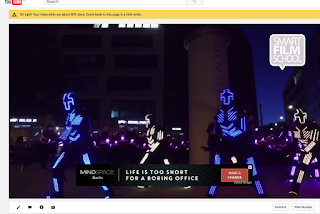 YouTube running ads on my content