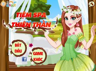Game tiệm Spa thiên thần hay nhất