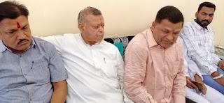 भाजपा नेता भय एवं दहशत का माहौल निर्मित कर जिले की फ़िज़ा खराब करने का कुप्रयास कर रहे है-जिकां अध्यक्ष महेश पटेल