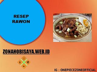 Resep Membuat Rawon
