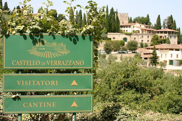 Vinícola Castello di Verrazzano em Chianti na Toscana