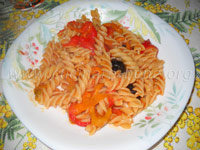 pasta coi peperoni
