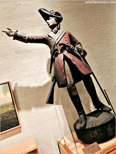 General Wolfe en el Museo de la Ciudadela de Quebec