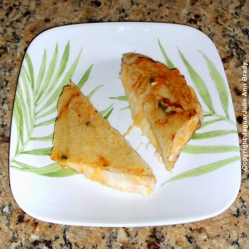 Grilled Cheese Sandwich on Jalapeno Cheese Bread