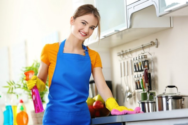 hire professional cleaners