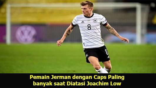 Pemain Jerman dengan Caps Paling banyak saat Diatasi Joachim Low