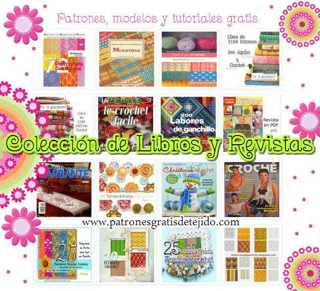 16 Libros, Revistas y PDF de tejido para descargar gratis