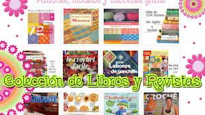 20 libros y revistas 🎁 de crochet y dos agujas en PDF para descargar gratis