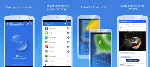 تحميل تطبيق CM Security: Security Master v5.1.7 (Premium) Apk لحماية وتسريع هاتفك الاندرويد