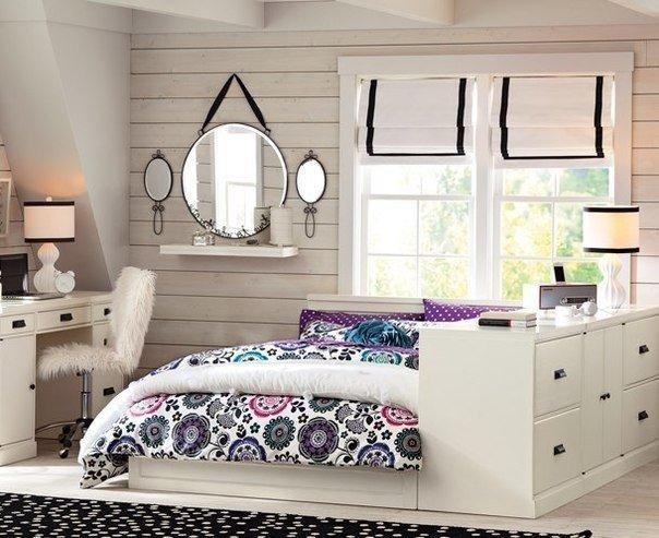 спальная комната светлых тонах