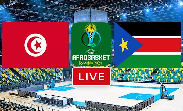 Match De Basketball: Tunisie vs Soudan du sud En Direct FIBA AfroBasket Rwanda 2021