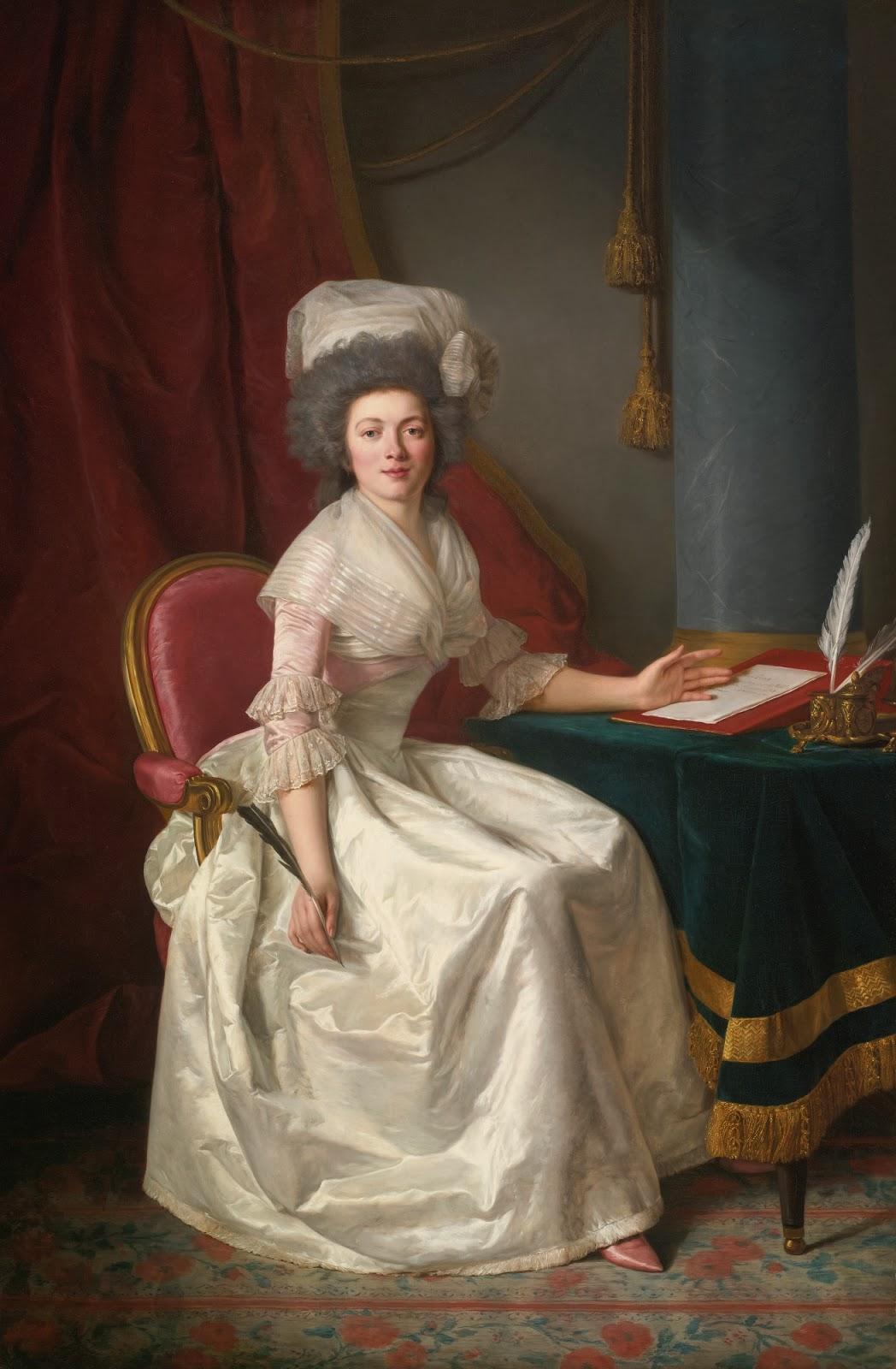 Portrait of a Lady, Rose-Adélaïde Ducreux