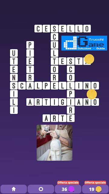Soluzioni One Clue Crossword livello 17 schemi 11(Cruciverba illustrato)  | Parole e foto