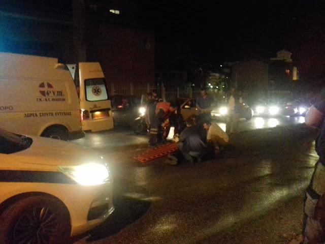 ΕΚΤΑΚΤΟ: Τροχαίο ατύχημα με ποδηλάτη πριν λίγο στην Ηγουμενίτσα (ΦΩΤΟ + ΒΙΝΤΕΟ)