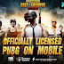 PUBG MOBILE ( English Version ) Now Available in PlayStore