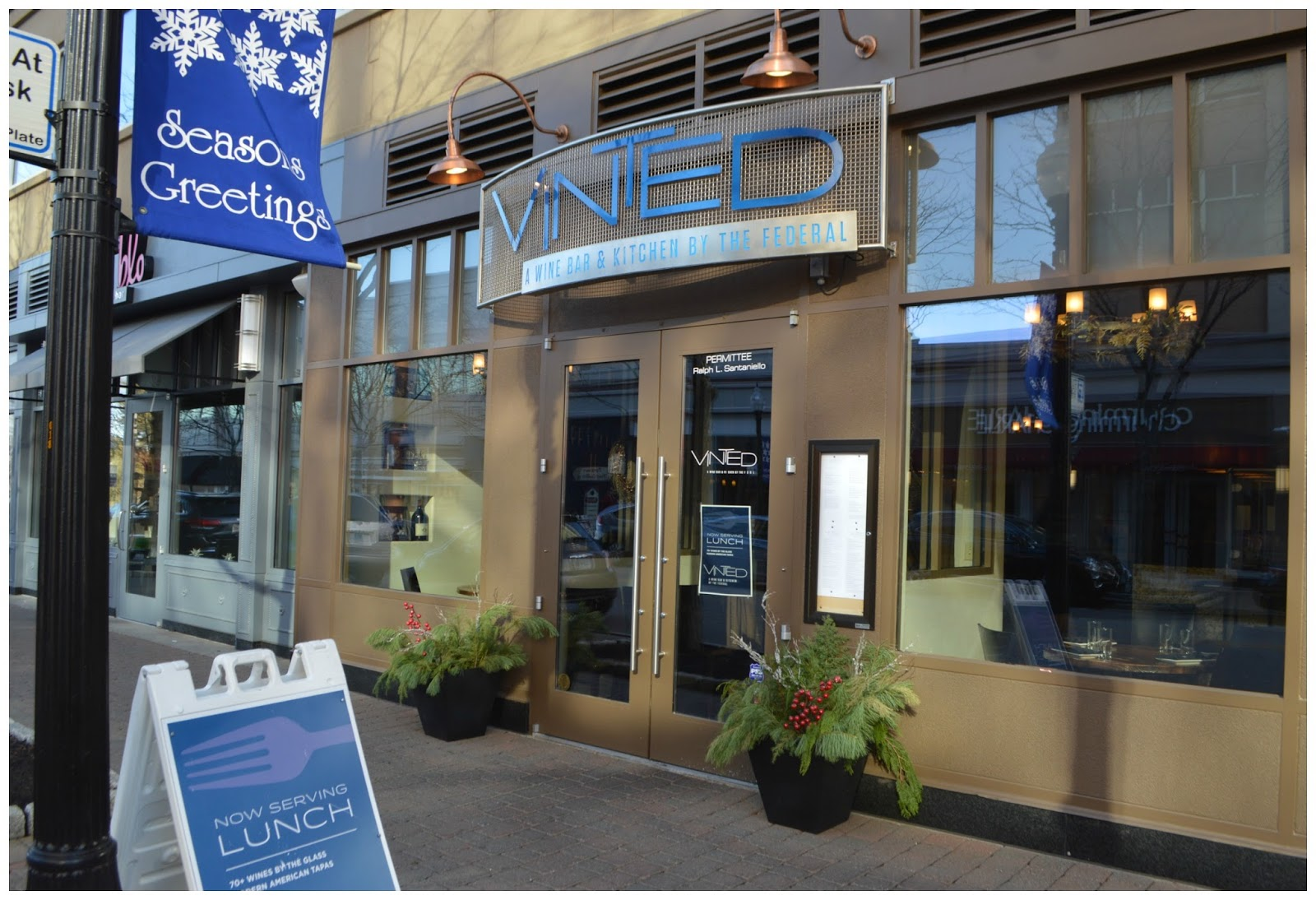Home place lunch at vinted in the blue back square west for Jewelry stores in hartford ct