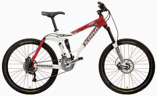 Jenis sepeda gunung MTB Freeride