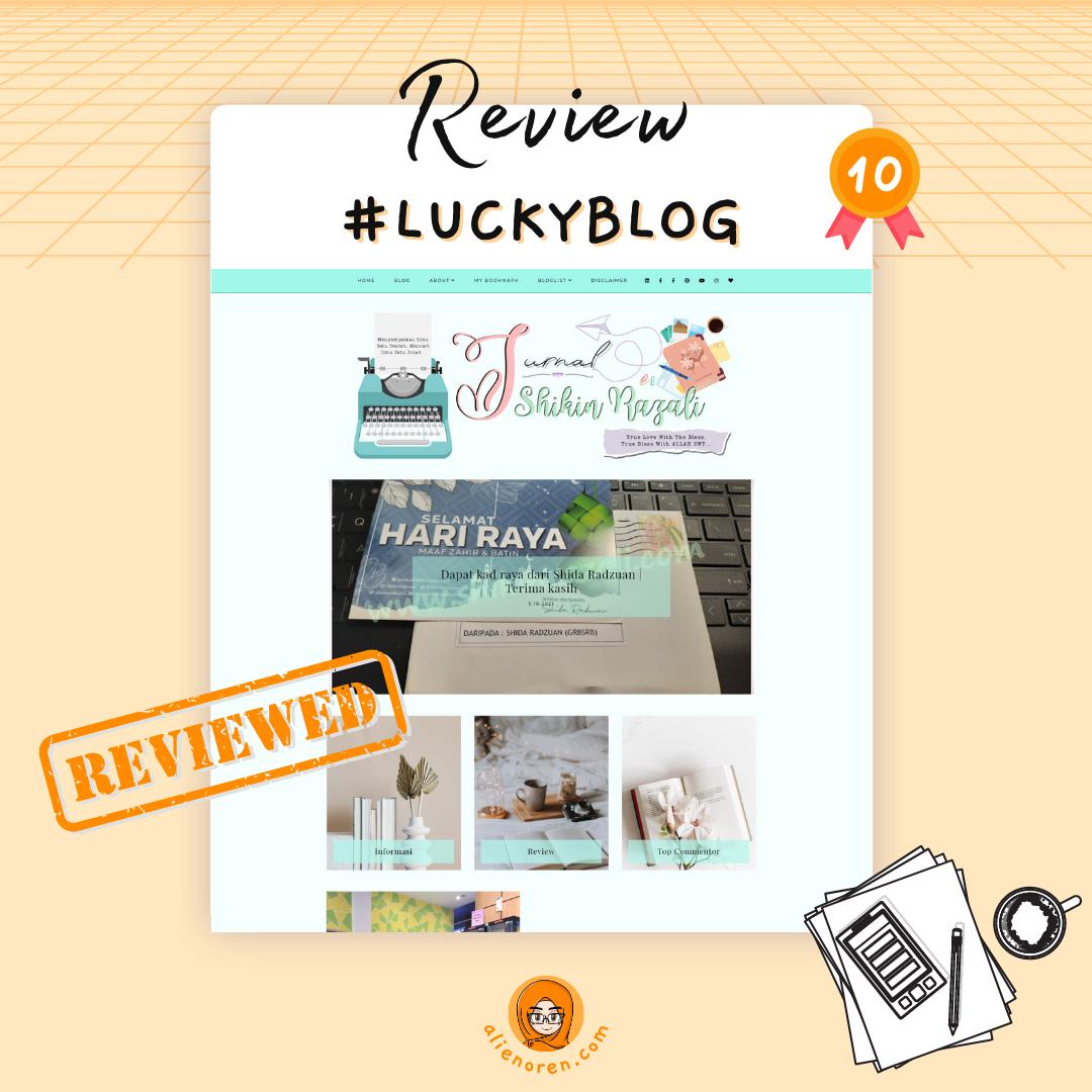 Review blog Jurnal Shikin Razali