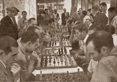 Match por equipos de ajedrez, Granollers 1945
