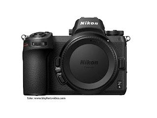 Spesifikasi dan harga Nikon Z6 kamera mirrorless Nikon Full frame