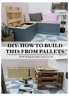 how to build pallet seating indoors