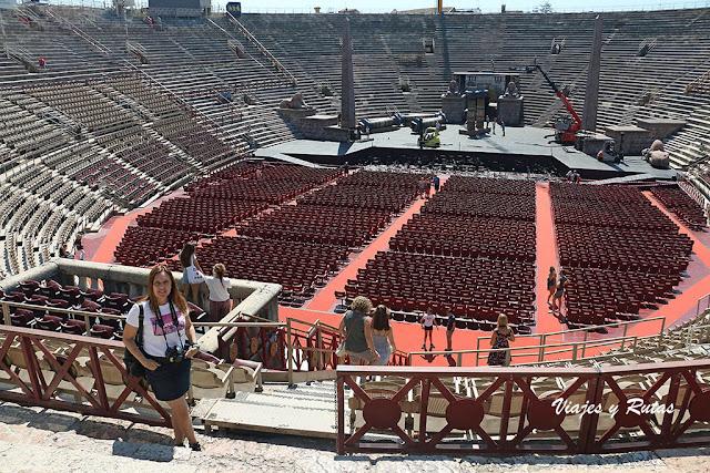 La Arena de Verona, interior