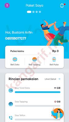 sim card by.u sudah aktif