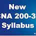 New Cisco CCNA Syllabus 200-301