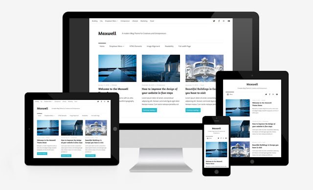 maxwell wordpress theme responsive theme