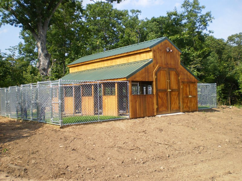 Rational preparedness the blog notes on building a for Dog kennel shed combo plans