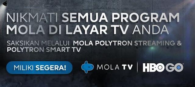 Cara Nonton Live Streaming Mola TV