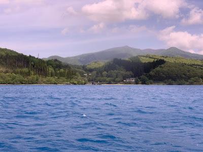 遊覧船から見る景色
