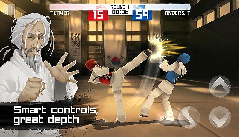 تحميل لعبة التايكواندو Taekwondo Game للاندرويد.