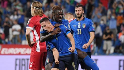 Italia vs Lithuania: Skor 5-0, Tambah Rekor Tak Terkalahkan